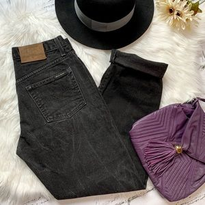 Vintage Guess Mom Jeans in Black